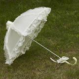 Красивая Терилен/кружева Свадебные зонты (124036967)