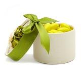 Cilinder Bedank Doosjes met Bloemen/Linten (Set van 12) (050028066)