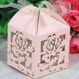 Rose projeto Cubi Caixas do Favor com Fitas (Conjunto de 12) (050024289)