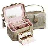 марочный PU женские Коробка ювелирных изделий (011200628)