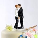 Mesmo Sexo Resina Casamento Decorações de bolos (122036157)