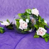 Plastische Roos wijnstok bruiloft Decoratie (131037534)
