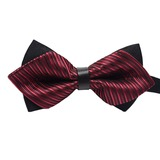 Stripe Polyester Bow Tie (200182463)