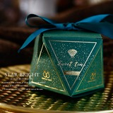Сладкая любовь ромб картона бумаги Коробочки с Ленты (набор из 30) (050197401)