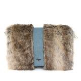 модное ткань с Перья / мех Клатчи/Модные сумки (012032882)
