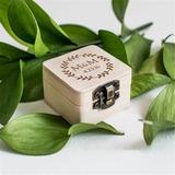 Elegant/Chic/Classic Ring Box in Wood (103197336)