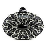 Charme PU met Acrylic Jewels/Tsjechische Stenen Koppelingen (012051301)