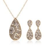 Bonito Liga com Strass Mulheres Conjuntos de jóias (011027567)
