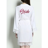 Cotton Lace Robes Glitter Print Robes (248176069)