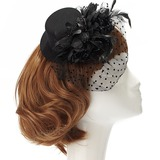 Dames Mode Netto garen Fascinators (196152951)