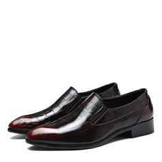 Мужская кожа Пенни Лоафер вскользь Men's Loafers (260171605)