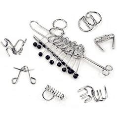 игрушки Современный Металл Набор головоломок головоломки мозга неперсонализированную Подарки (129140517)