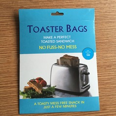 Modern Classic Treats Non Stick Reusable Toaster Bags for Sandwich and Grilling (Set of 3) Non-personalized Gifts (129140471)
