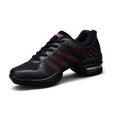 Женщины кожа Танцевальные кроссовки Танцевальные кроссовки Обувь для танцев (053093925)