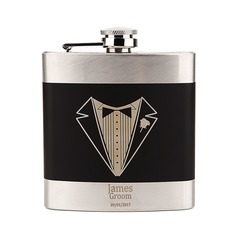 Personalized Delicate Stainless Steel Flask (118096111)