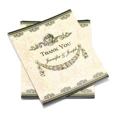 Personlig klassisk stil Tackkort (Sats om 50) (114054964)