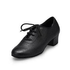 Мужская кожа На каблуках На каблуках Практика Обувь для танцев (053080694)