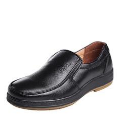 Мужская натуральня кожа U-Tip вскользь Men's Loafers (260187161)