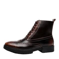 Мужская натуральня кожа Chukka вскользь Men's Boots (261172204)