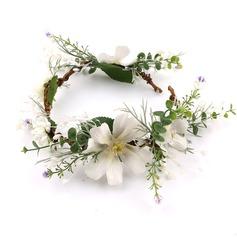 Дамы Специальный шелковые цветы ободки (042205954)