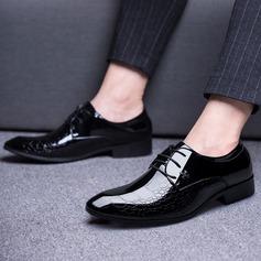 Hommes Cuir en Microfibre Dentelle Chaussures habillées Travail Chaussures Oxford pour hommes (259173760)
