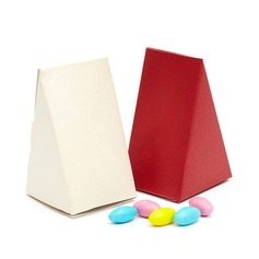 Klassisk Pyramid Favör Boxas (Sats om 10) (050048888)