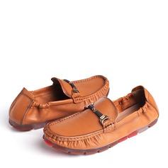 Мужская натуральня кожа U-Tip Лошадь Мокасины вскользь Men's Loafers (260187180)
