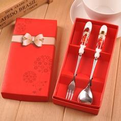 Roestvrij Staal Lepel en vork set (Verkocht in één stuk) (051139865)
