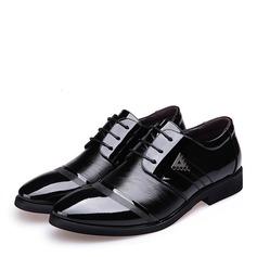 Мужская кожа Cap Toes шнуровка Платья Men's Oxfords (259173587)