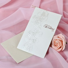 Stile Floreale Side Fold Invitation Cards (Set di 50) (114033302)
