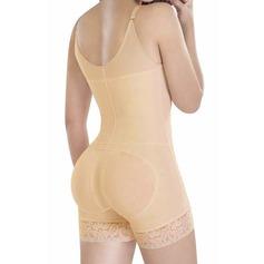 Kvinner Sexy/Bryllupsreise Bomull Blends Body/Shorts Formklær (125094610)
