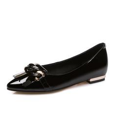 Kvinnor Äkta läder Flat Heel Platta Skor / Fritidsskor Stängt Toe skor (086084247)