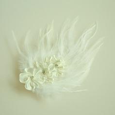 Дамы Красивая Перлы ложный/перо/Атлас лоб ювелирные изделия с искусственный жемчуг (042143697)