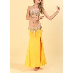 Женщины Одежда для танцев полиэстер Танец живота Инвентарь (115175846)