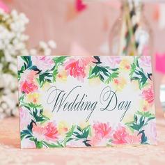 Personalizzato Fiore di Primavera 250 g Matt Art Paper Biglietti d'invito (Set di 10) (118069800)