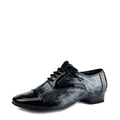 Мужская Лакированная кожа Бальные танцы Обувь для танцев (053116917)