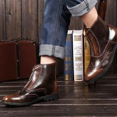 Мужская натуральня кожа Chukka вскользь Men's Boots (261172201)