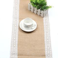 Tafelkleed Linnen (Verkocht in één stuk) Eenvoudig Tafel Middenstuk (128152268)