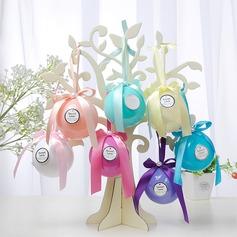 Kreative/Schön/Rund Kugel Kunststoff Geschenkkartons & Container/Süßigkeiten Gläser und Flaschen mit Bänder (Satz von 12) (050168350)