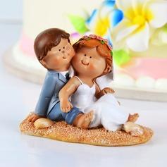 Diversão na praia Resina Casamento Decorações de bolos (005038309)