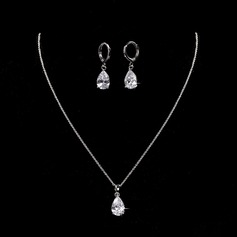 Bijoux beau Alliage zircon de (Lot de 3) Cadeaux (129166776)