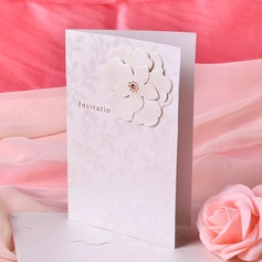 Stile Floreale Side Fold Invitation Cards (Set di 50) (114033290)