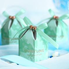 Красивая ромб картона бумаги Мешочки с Ленты (набор из 20) (050203425)