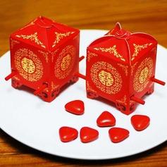 Presidente Sedan Vermelho Cubi Caixas do Favor (conjunto de 12) (050012948)