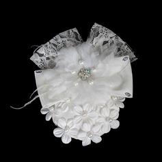 красивый жемчуг Кружева цветы Украшения для волос (042016419)