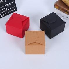 Классический/простой Кубовидной картона бумаги Коробочки (набор из 50) (050197432)