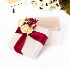 Clásico Cuboidea Cajas de regalos con Flores (Juego de 12) (050039700)