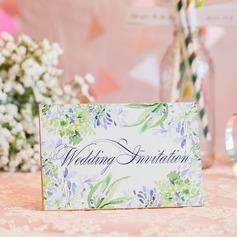 Personalizzato Fiore di Primavera 250 g Matt Art Paper Biglietti d'invito (Set di 10) (118069799)