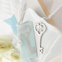 Key To Your Heart Stainless Steel Bookmarks (Sold in a single piece) (051143598)