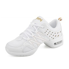 Женщины кожа Танцевальные кроссовки Практика Обувь для танцев (053091877)